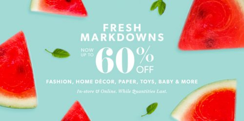 Indigo chapters canada sale fresh markdowns and up to 60 for Home decorators coupon 50 off 200
