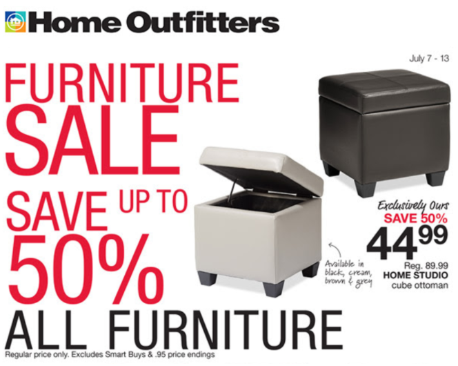 Home Outfitters Canada Deals Save Up To 50 Off All Furniture More Flyers Deals 25 Off