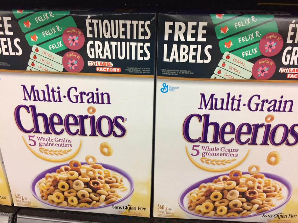 my label factory general mills code