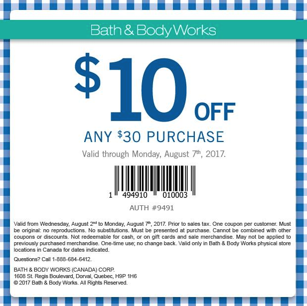 Bed Bath And Body Works Annual Sale