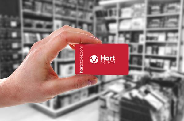 Hart Points Reward Card Canada
