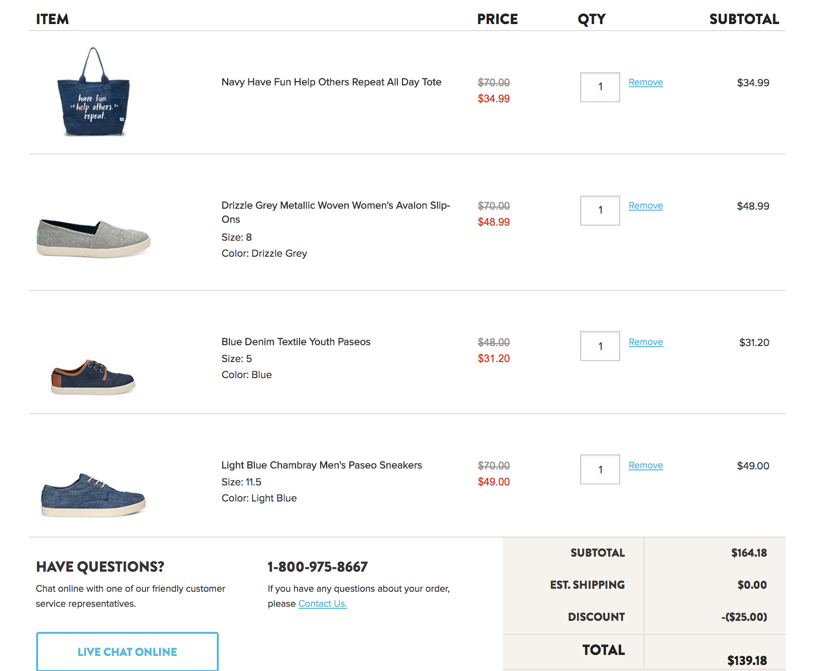 Toms Shoes Canada Deal: Save $25 Off