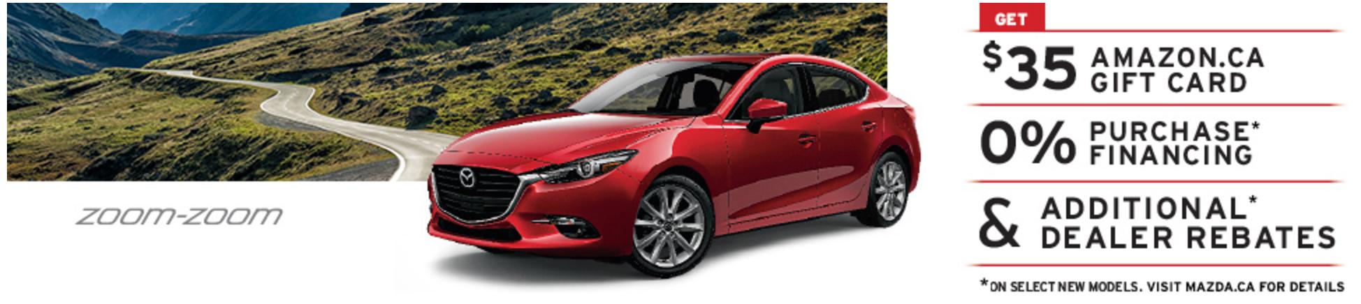 Mazda coupons canada