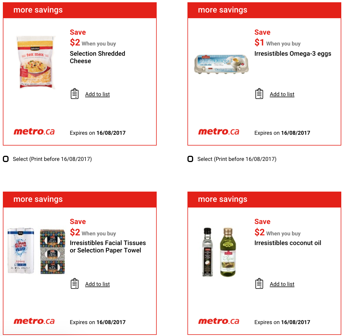 best place to find coupons in canada