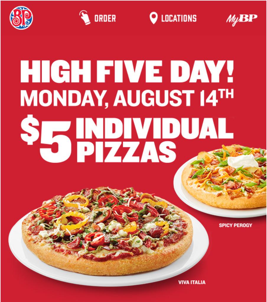 boston pizza discount coupon
