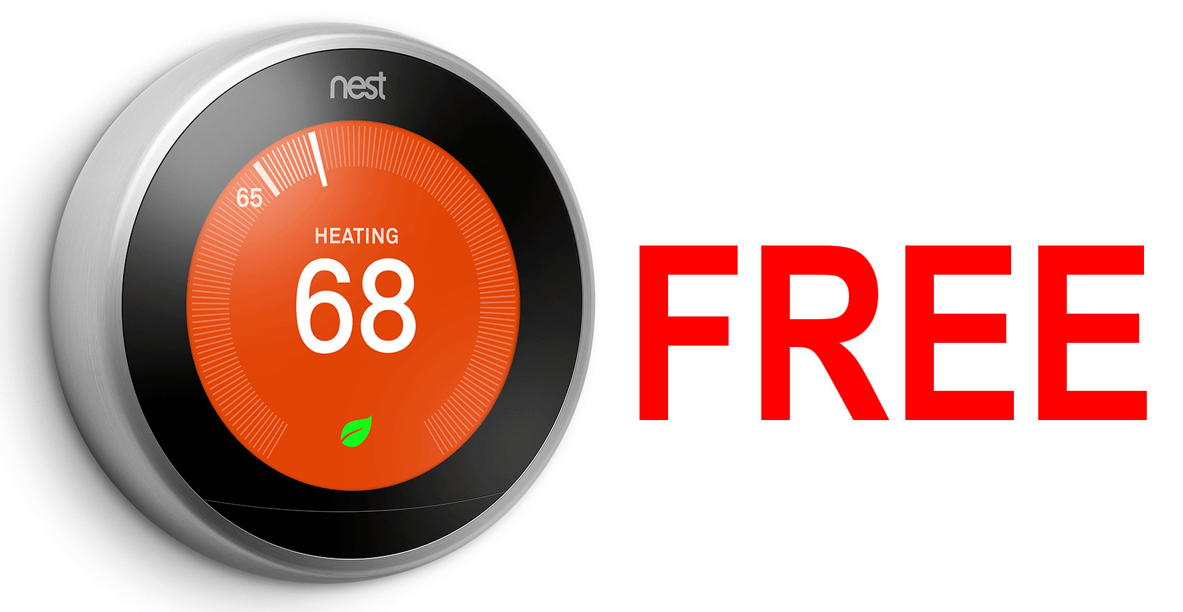 how to get a free nest thermostat