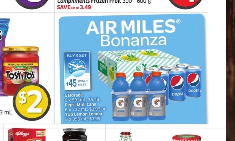 Foodland Air Miles Bonaza Pepsi