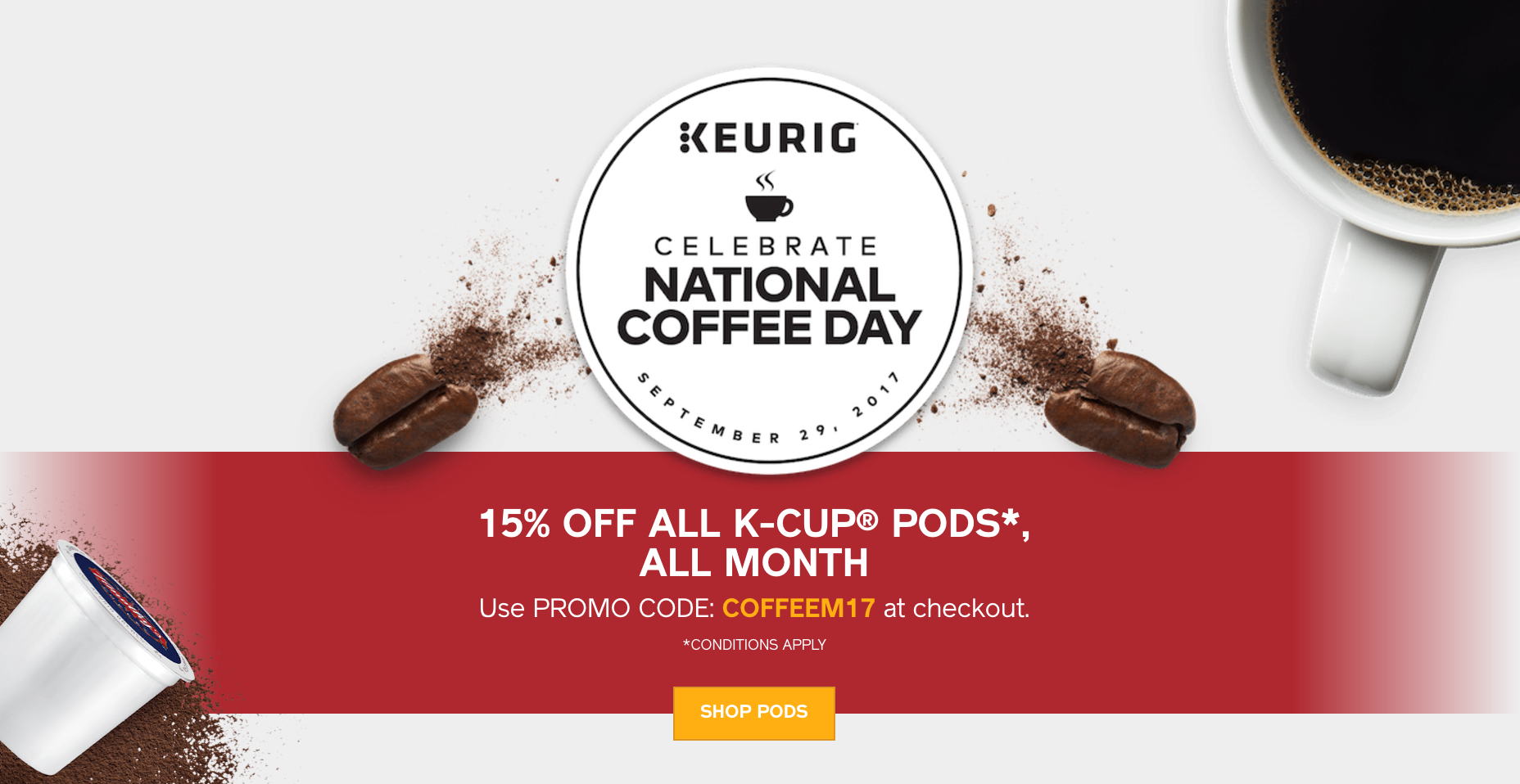 The Keurig K brews a rich, smooth, and delicious cup every time with the quality you expect from Keurig. With a strength control setting for a bolder brew, five temperature settings, and multiple K-Cup, K-Mug, and K-Carafe pod brew sizes, you can customize your settings to get your perfect cup.