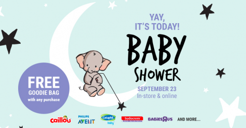 9ab1a2db5063b Thyme Maternity Canada Baby Shower Event: Get a FREE Goodie Bag with ANY  Purchase