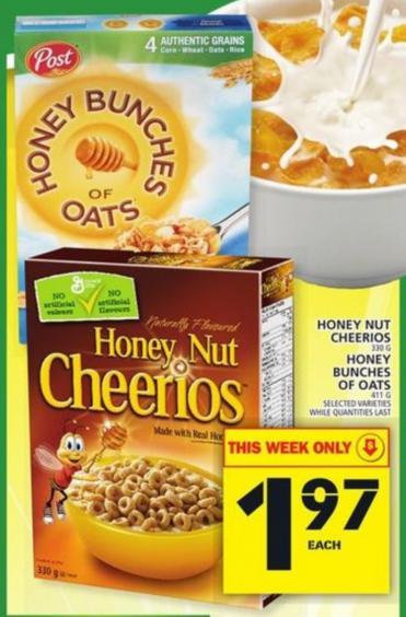 Honey bunches of oats coupon canada