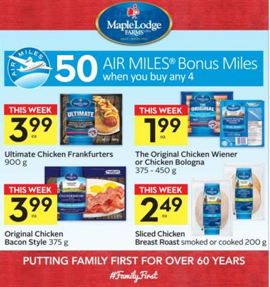 Sobeys air miles