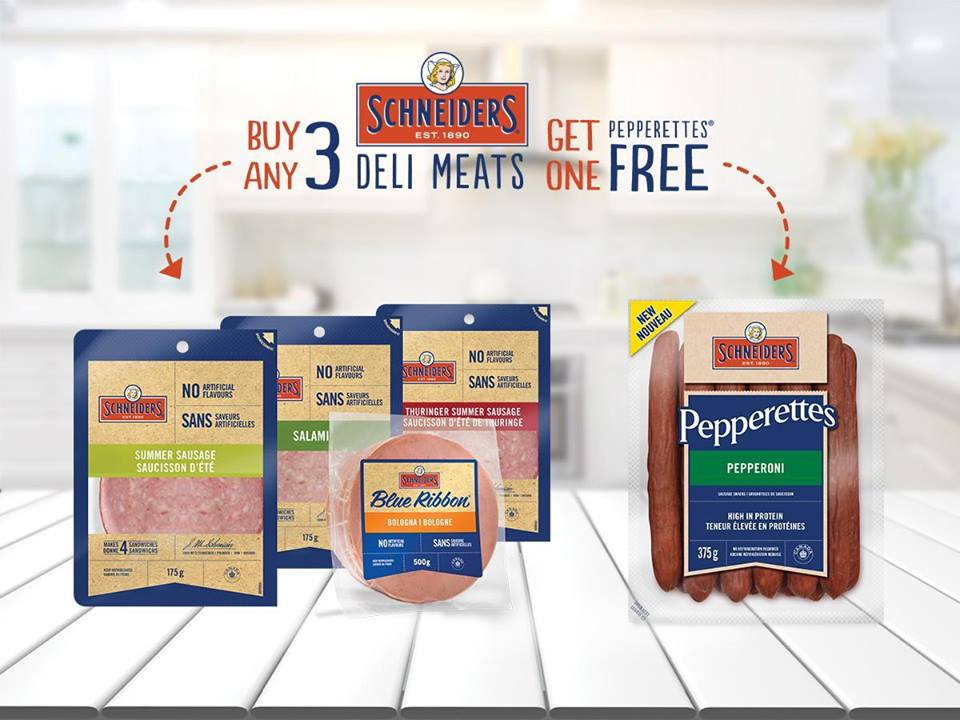 984aed0ea125 Schneiders Canada has a great deal for those of you looking to cut costs on  back to school lunches. Look in store where Schneiders products are sold  for ...