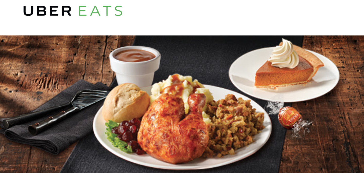 UberEATS & Swiss Chalet Canada Deal: Save $10 Off First