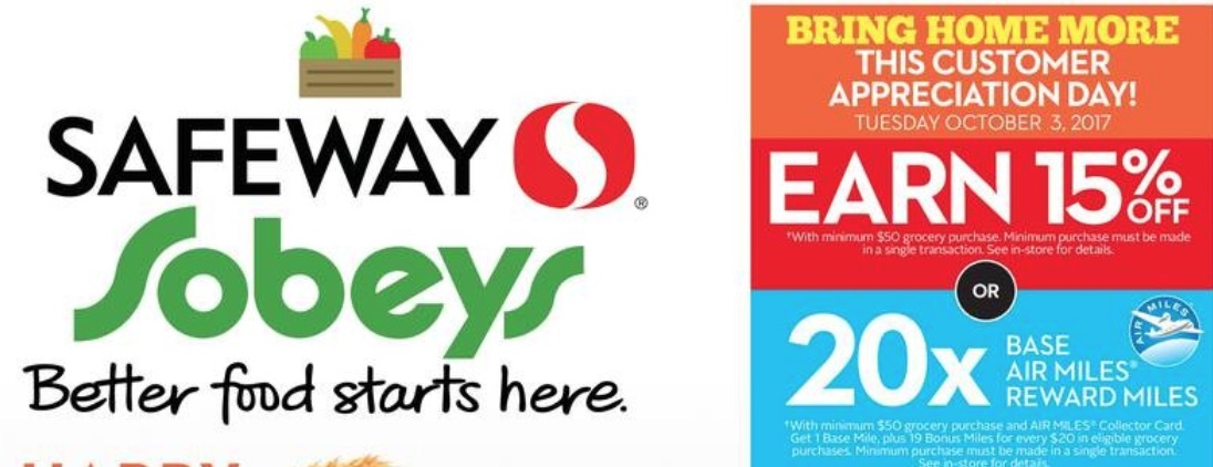 Sobeys coupons air miles