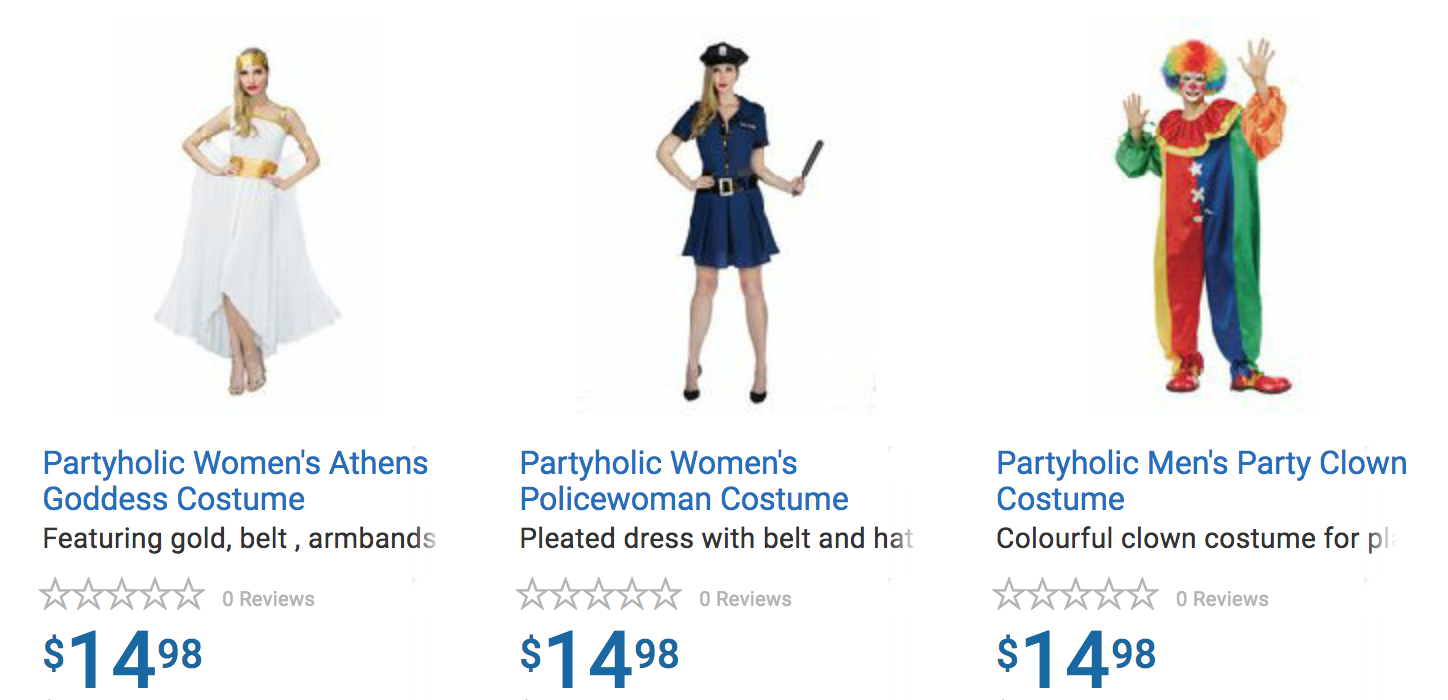 walmart canada halloween costumes, candy & decorations | canadian