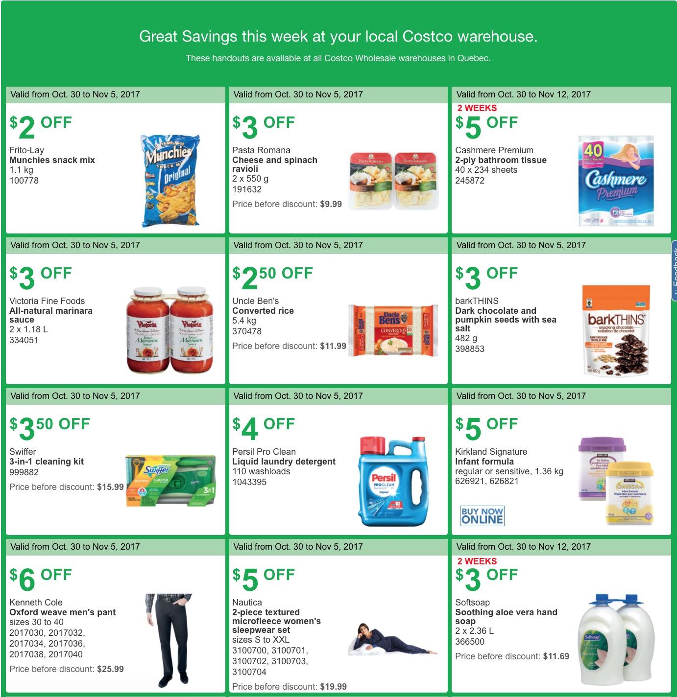 Costco coupons november 2018 canada