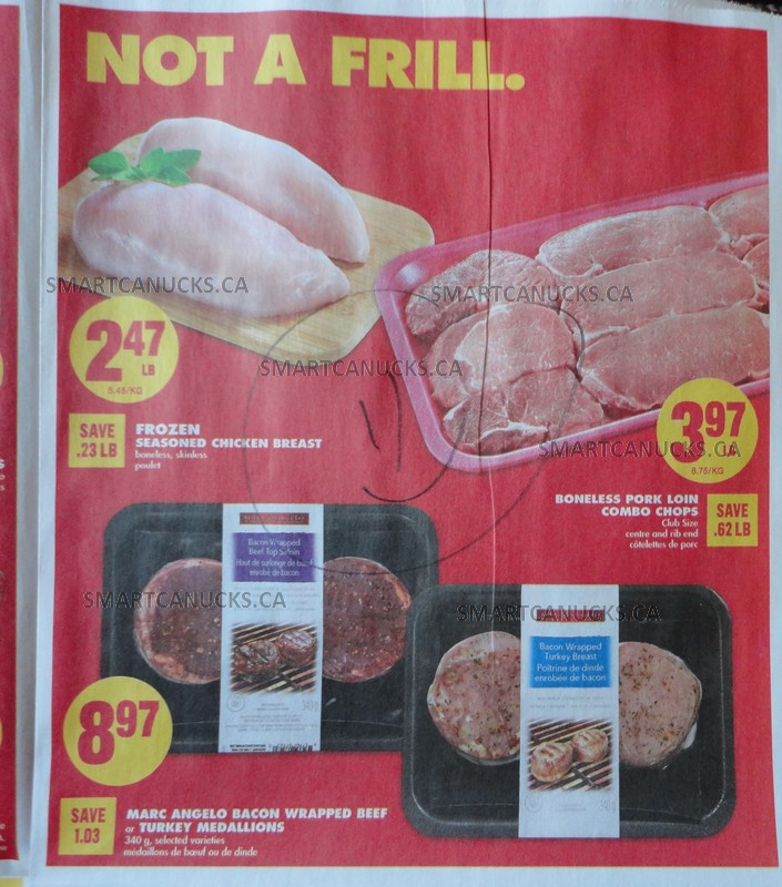 Ontario Flyer Sneak Peeks Food Basics Freshco No Frills And Real