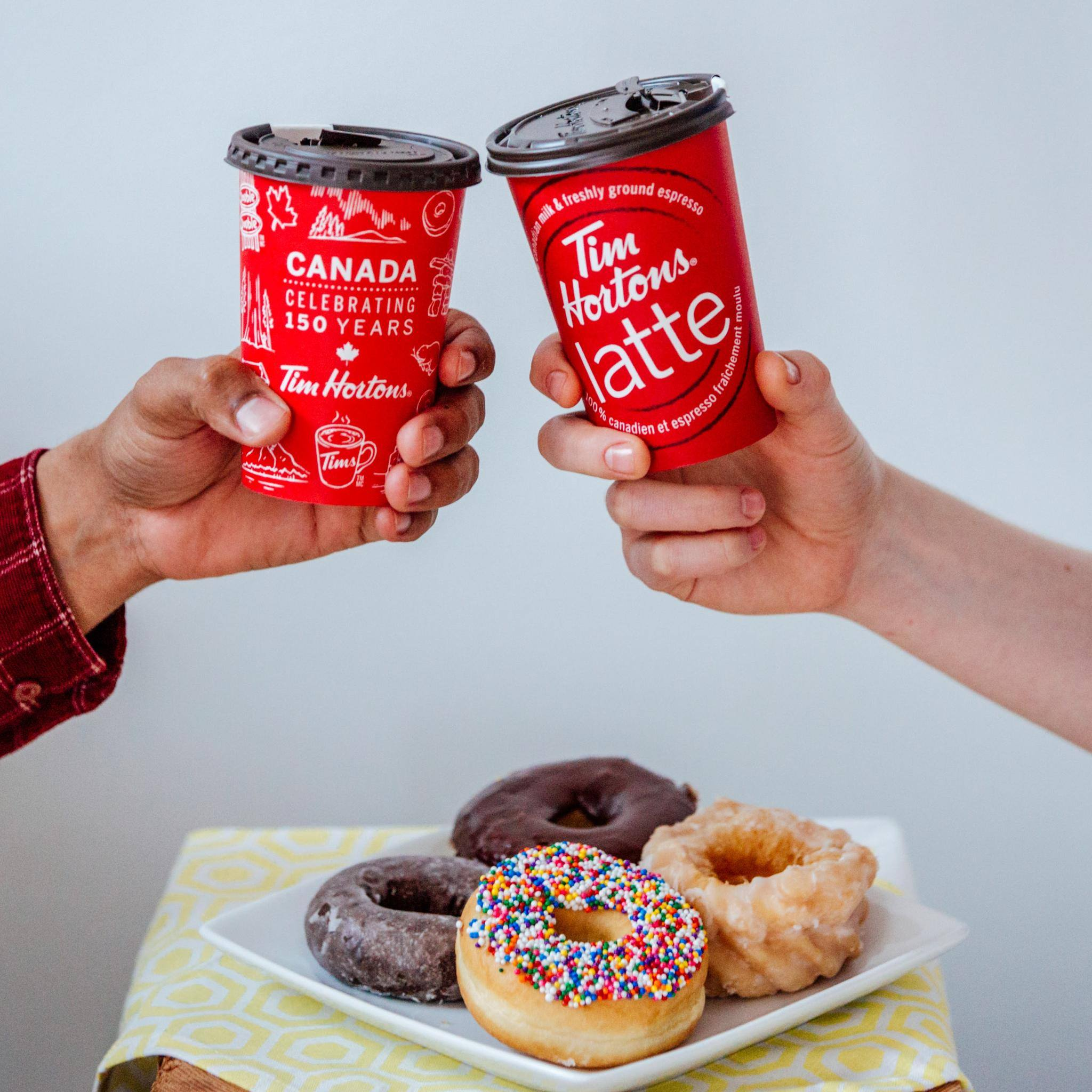 tim hortons Tim hortons, the canadian coffee chain named after a national hockey star, is  headed to china, with the brand's owner launching a joint.