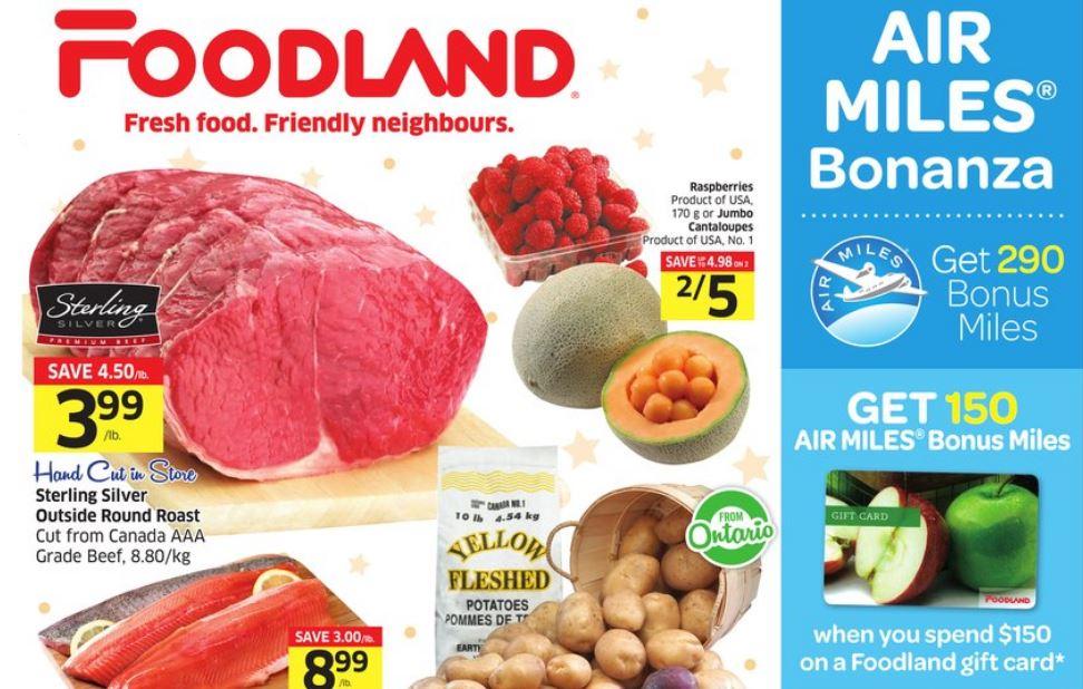 Foodland Air Miles Deal