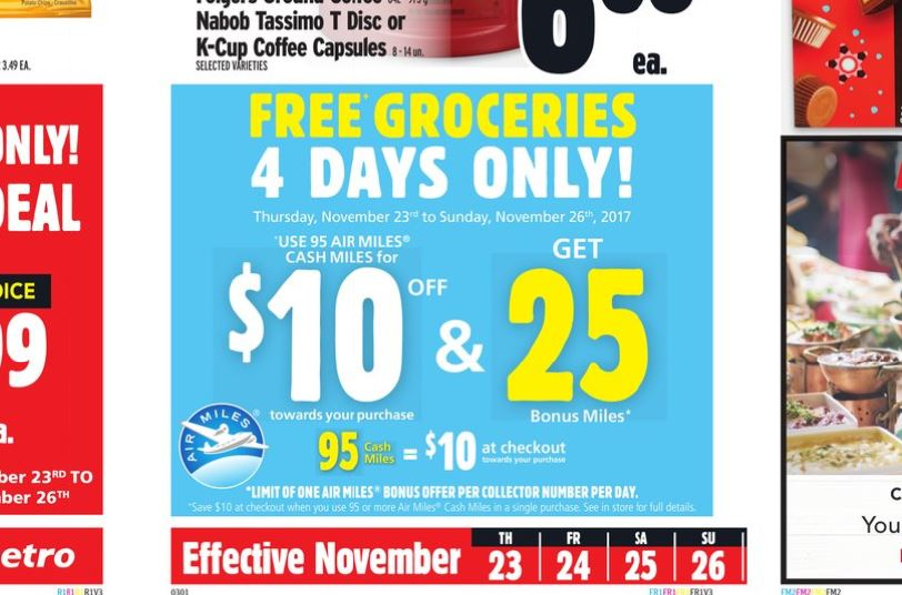 Metro Redemption Deal Black Friday