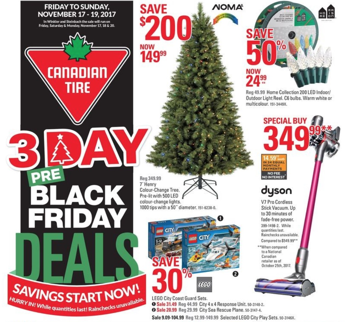 canadian tire pre black friday 3 days sale save 80 cookware set 60 on carpet cleaner more. Black Bedroom Furniture Sets. Home Design Ideas
