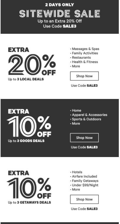 groupon coupon code goods