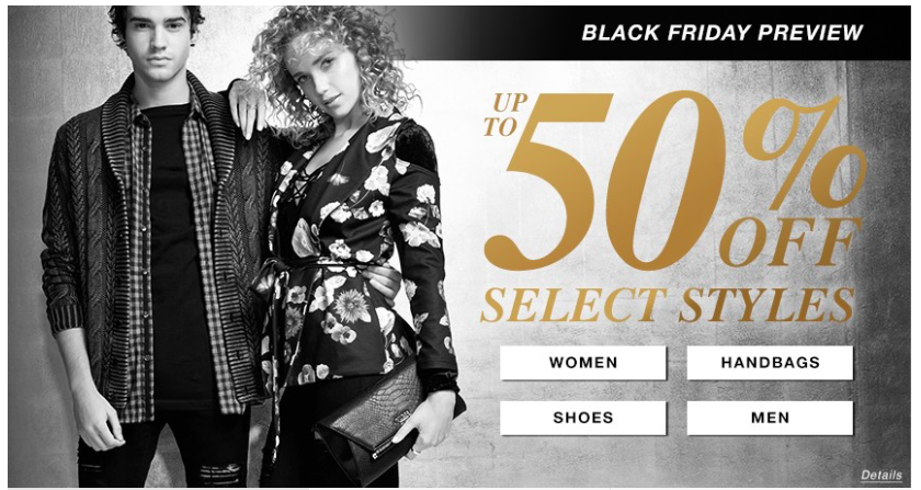 Guess Black Friday 2019 Ad & Sale Details