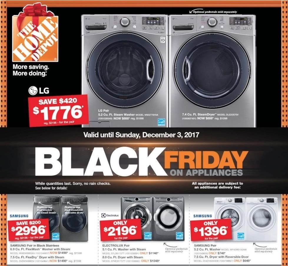 washer dryer black friday deals canada