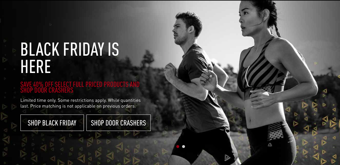 special price for 2019 hot sale elegant and graceful Reebok Canada Black Friday 2017 Weekend Sale: Save 40% OFF + ...