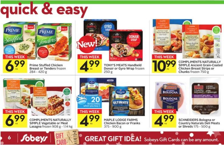 Sobeys Shop The Block Deal