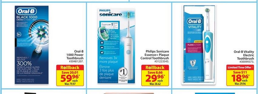 New $10/1 Philips Sonicare Toothbrush Coupon + Walmart & Target Deals!