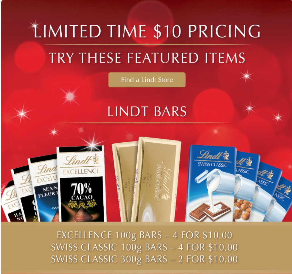 Lindt coupon code