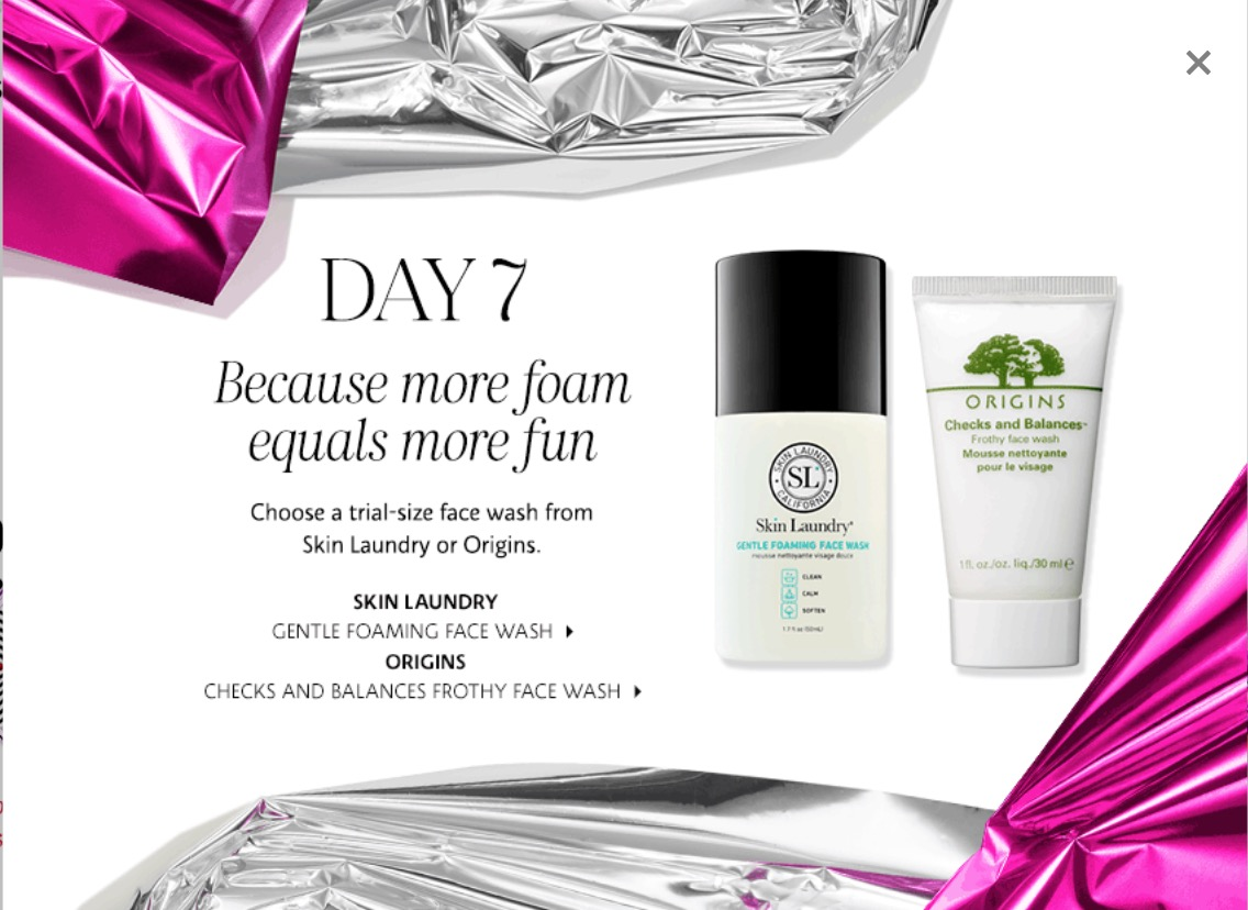 Sephora Canada 25 Days Of Delights Deals Today Free Skin