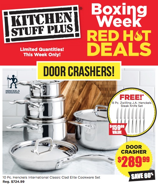 dd1a65b049 Kitchen Stuff Plus Canada has a great Boxing Week Red Hot Sale available  available on December 26