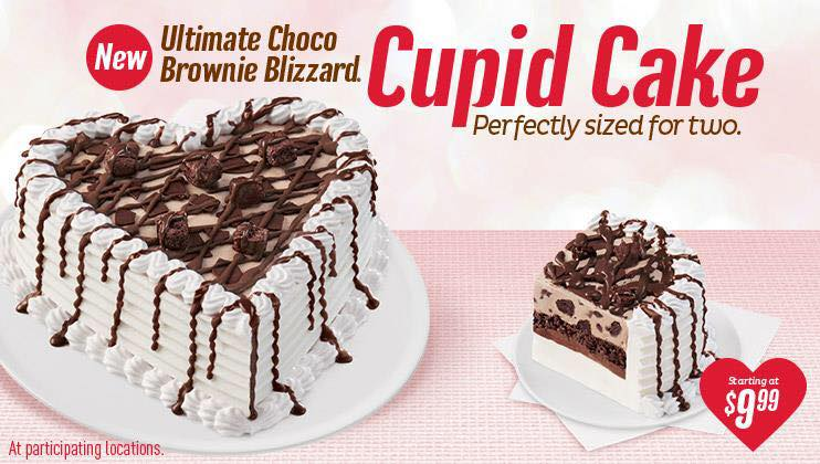 Ultimate Dairy Queen Chocolate Cake Valentines Day