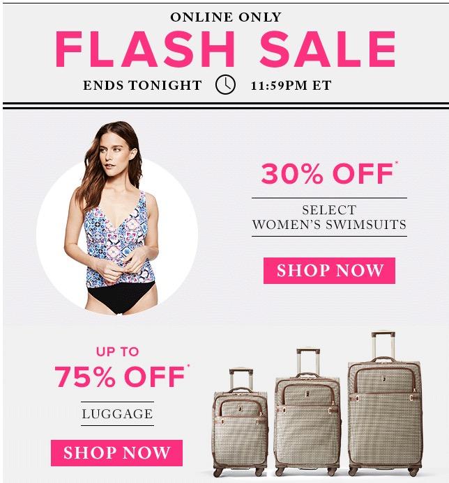 the bay flash sale