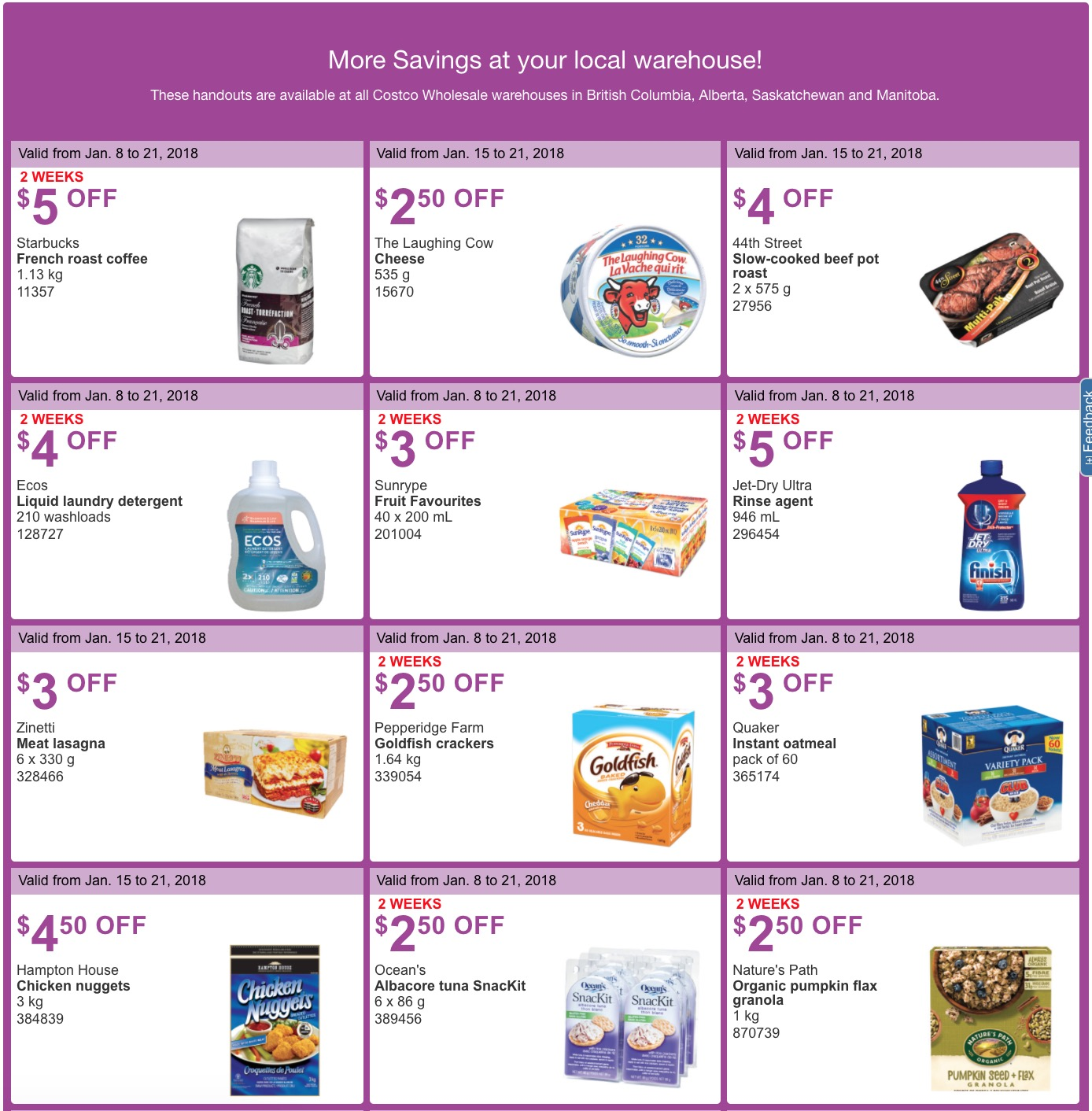 Costco.ca coupon code 2018