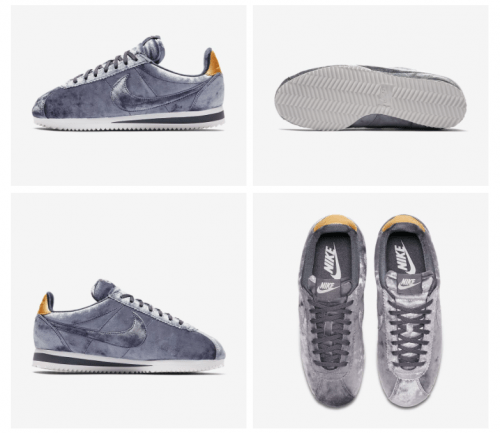 This Nike Classic Cortez Velvet Women's Shoes is on sale for $83.99. When  you use the promo code at checkout, you can save an extra 25% off and pay  only ...