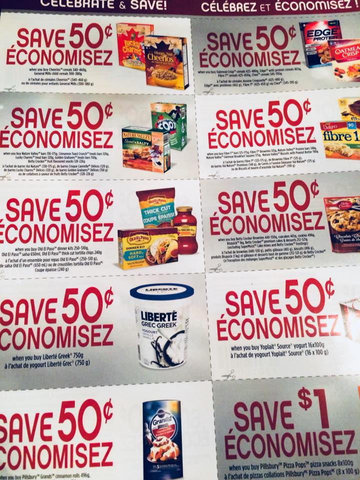 General Mills Celebrate And Save Coupons Available At Walmart Canada Locations Canadian Freebies Coupons Deals Bargains Flyers Contests Canada