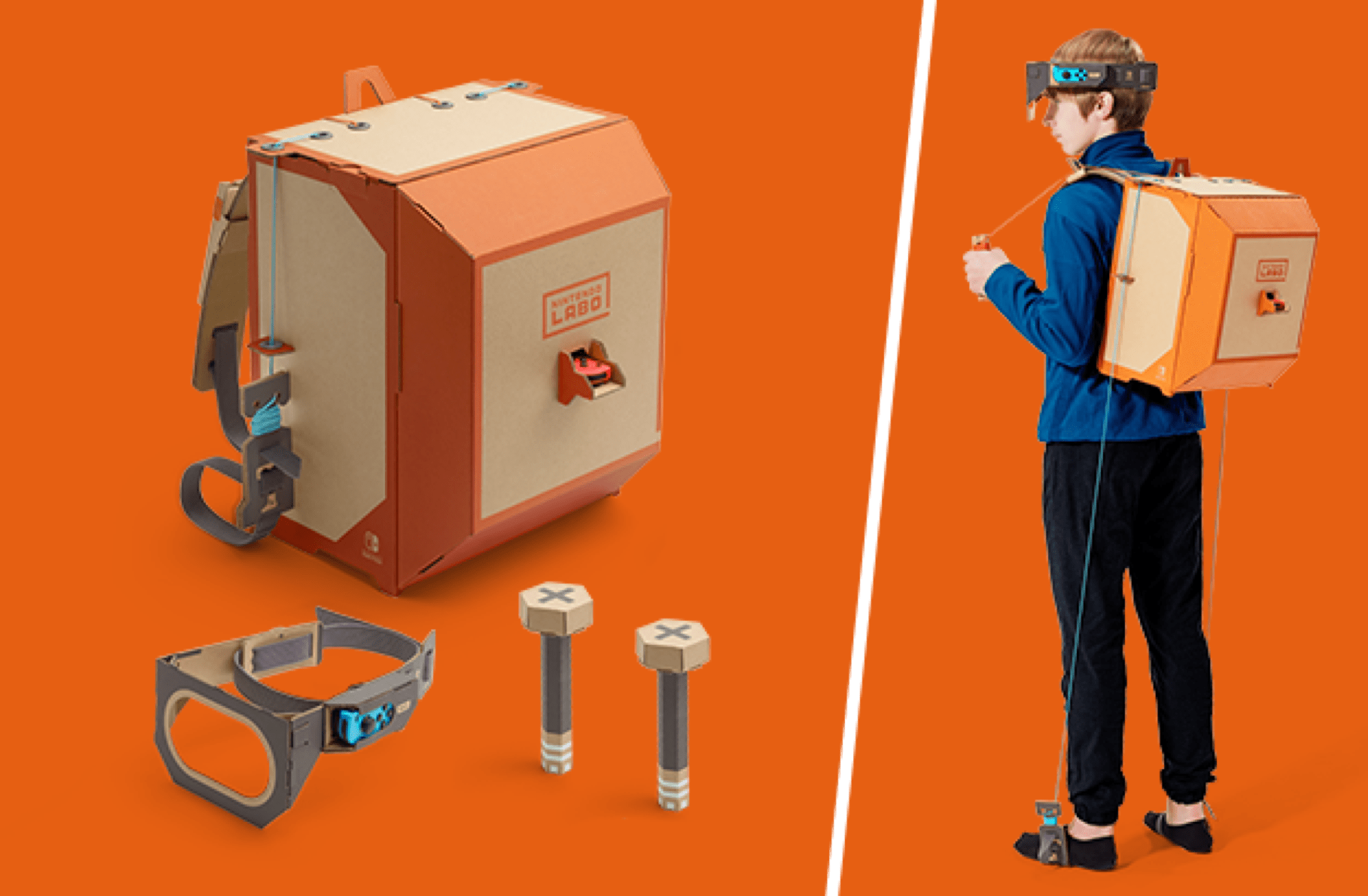 Nintendo Labo Diy Cardboard Switch Accessories Launching