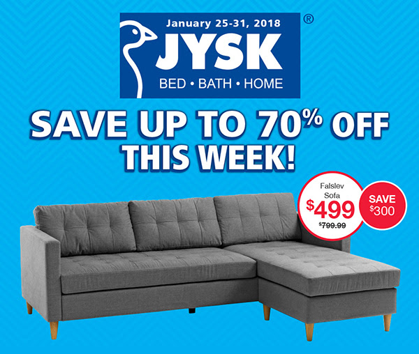 Jysk Canada Save Up To 70 Off, Black Friday Furniture Deals 2020 Canada