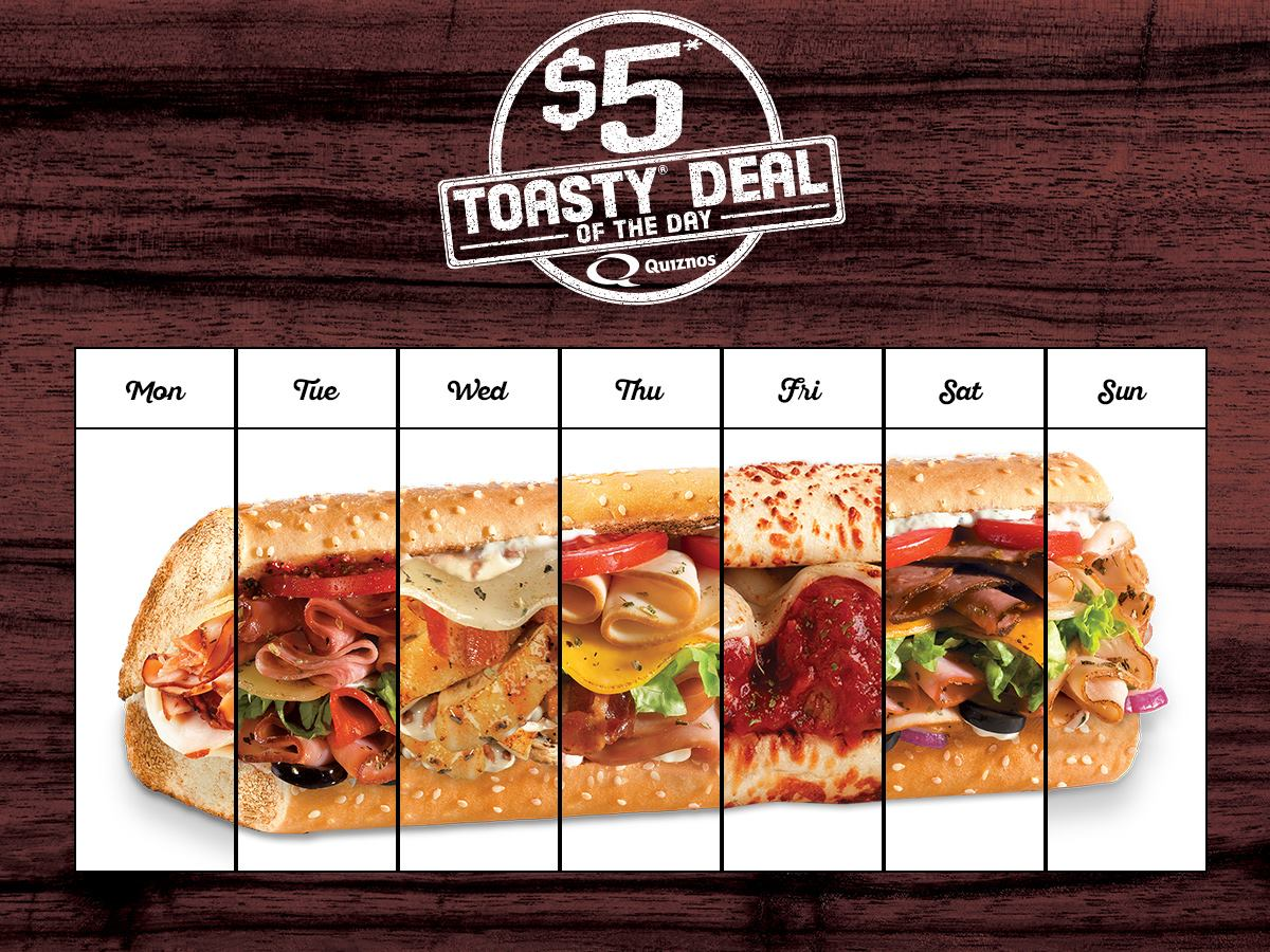 Quiznos coupons canada august 2018