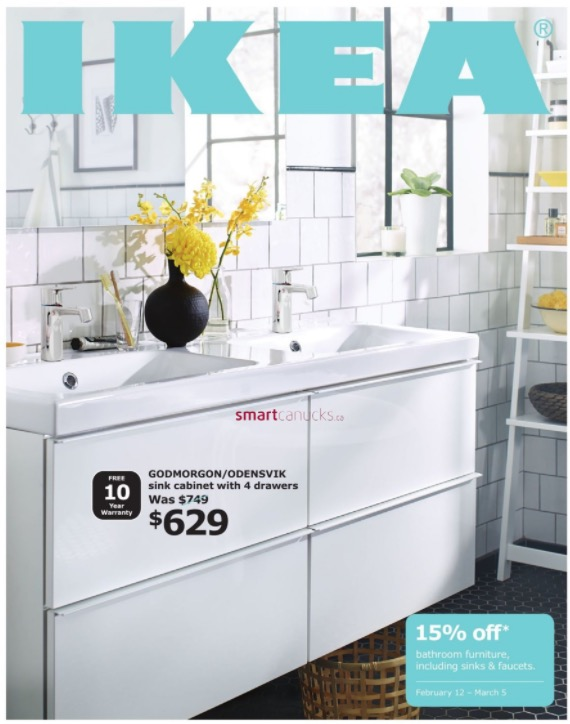 Ikea Canada Bathroom Event Bathroom Furniture Sinks Faucets Save 15 Off Hot Canada Deals