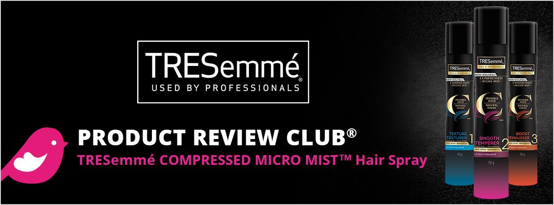ChickAdvisor Tresemme Compressed MicroMist