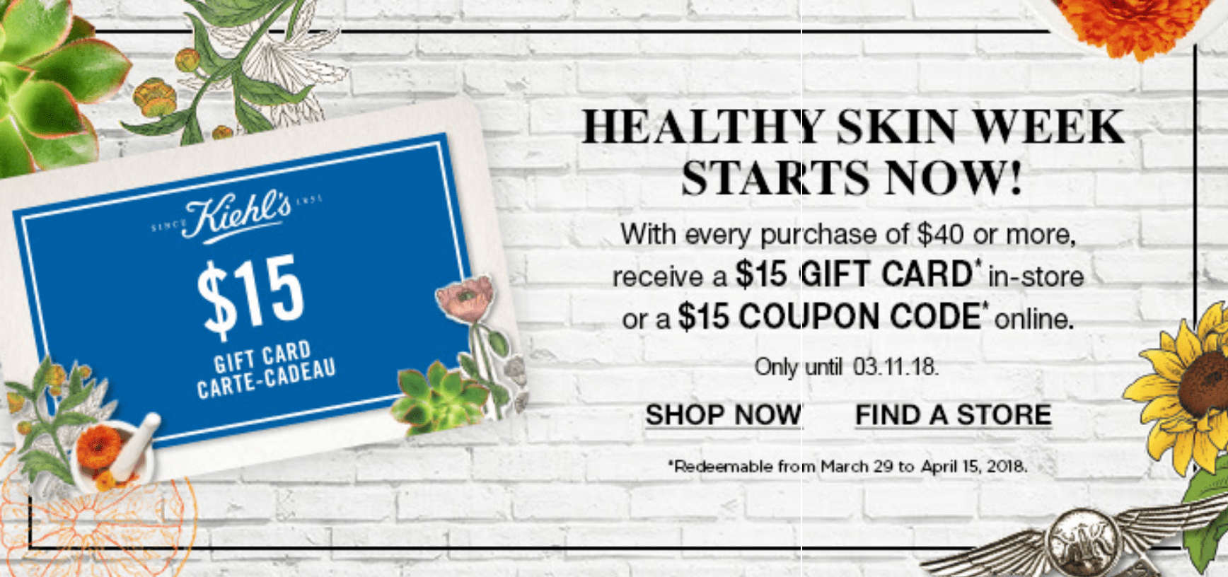 Kiehl S Gift Card Codes
