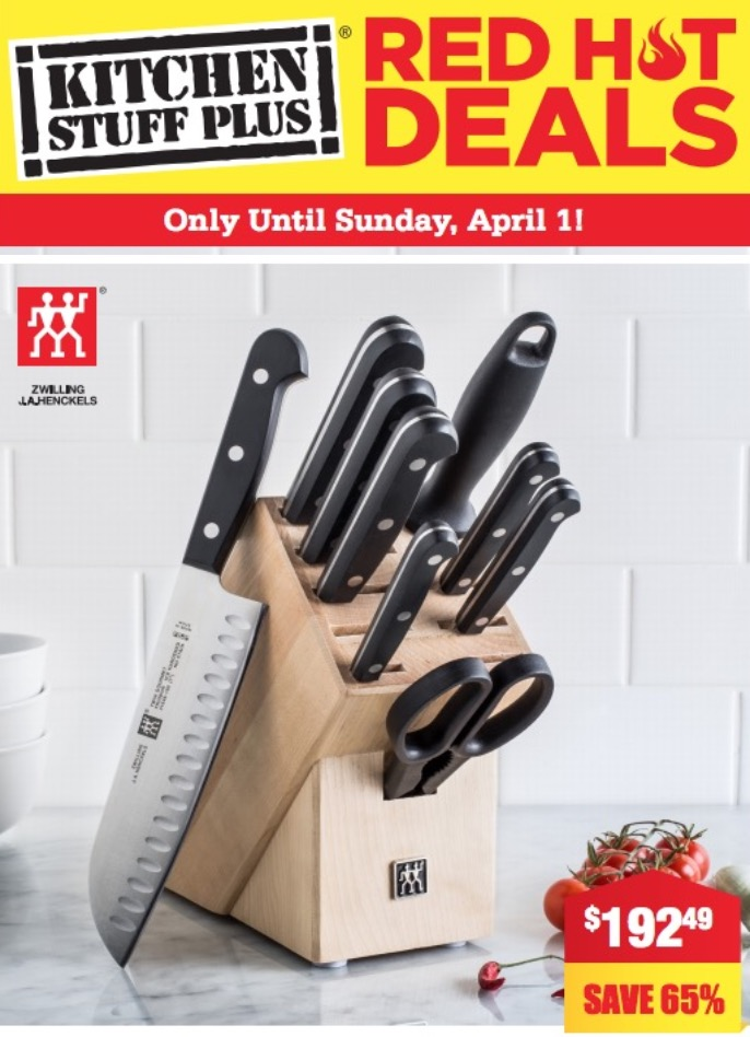 Kitchen stuff plus coupon 2018