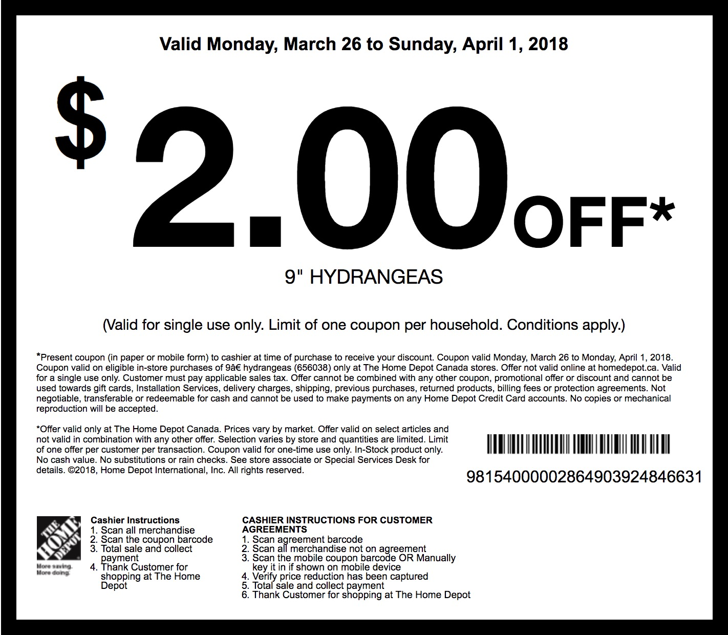 Home depot grill coupons 2018
