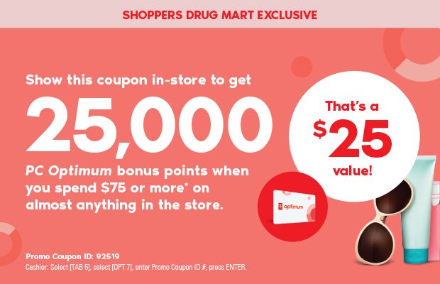 Make Shoppers Drug Mart Protect Your Optimum Points Account Online!