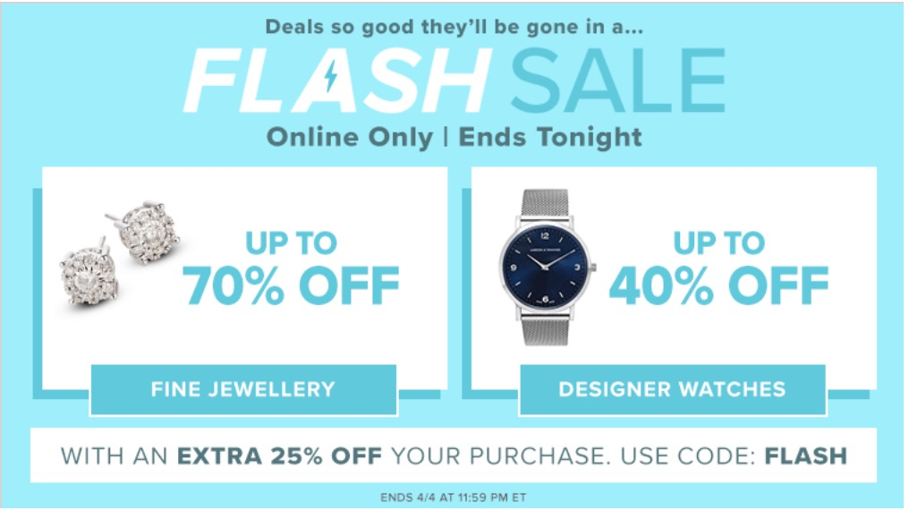 Designer deals online canada
