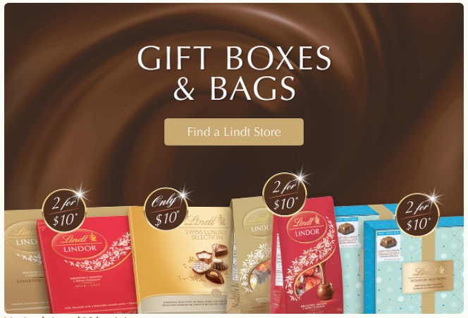 Exclusive Offers for Lindt